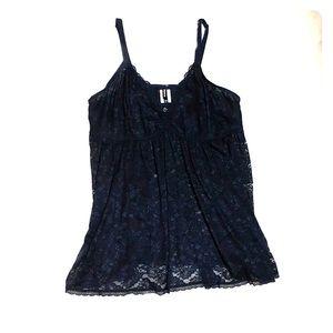 Black Torrid lace night dress size 4X